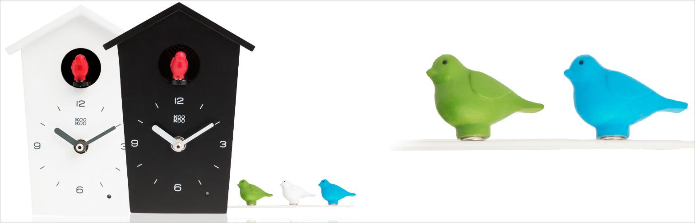 KooKoo Birdhouse - Die etwas andere Kuckucksuhr bei 999Geschenke