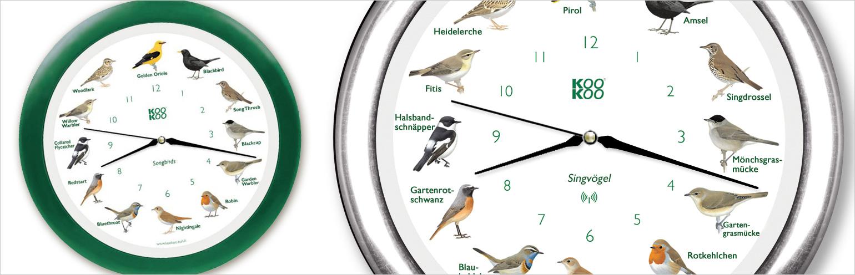 KooKoo Singende Vogeluhr bei 999Geschenke