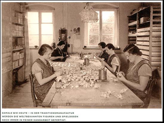 Damals wie heute - feine Handarbeit bei Wendt & Kühn